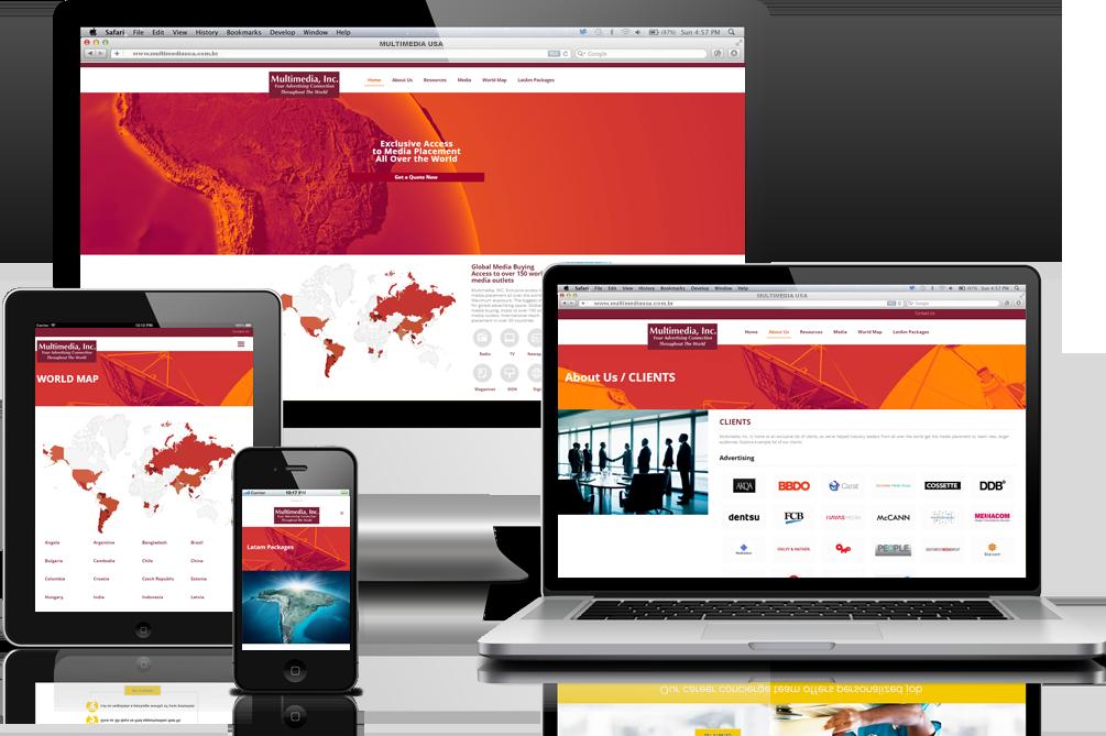 Criação de Sites - Multimedia Inc